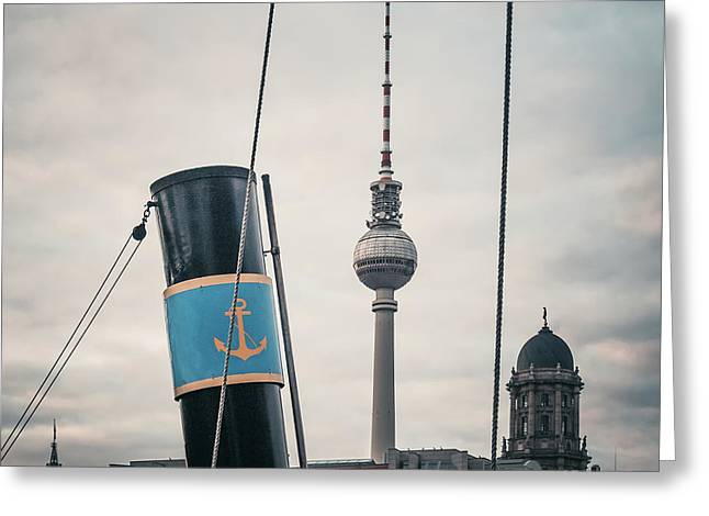 Home Port Berlin Greeting Card by Alexander Voss