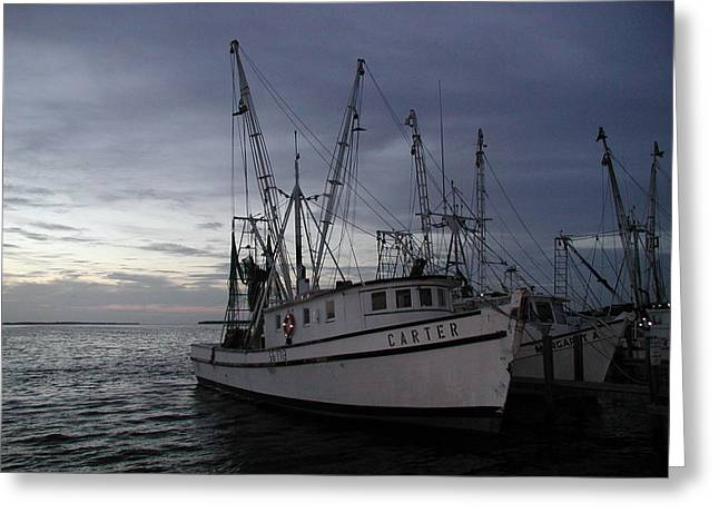 Greeting Card featuring the photograph Home Port by Nancy Taylor