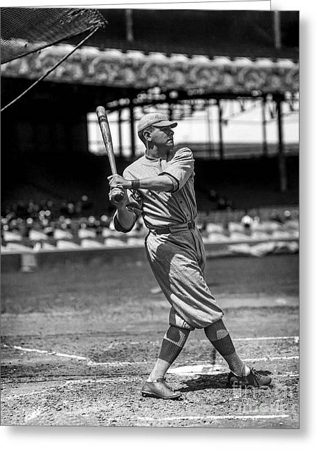 Home Run Babe Ruth Greeting Card
