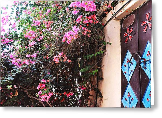 Home Greeting Card by Sunaina Serna Ahluwalia