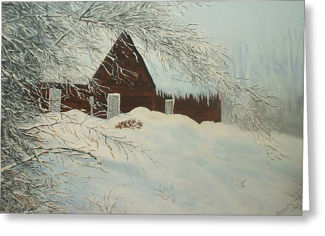 Home Sweet Home Greeting Card by Bev  Neely