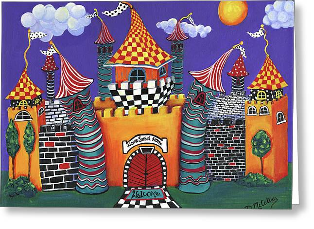 Home Sweet Home Greeting Card by Debbie McCulley