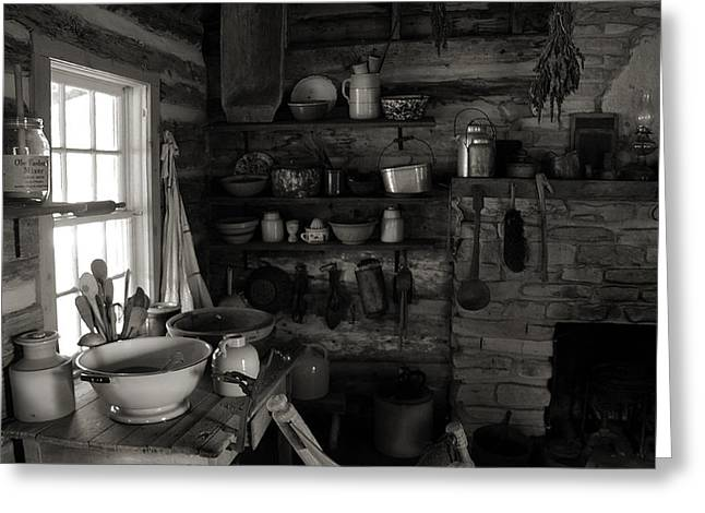 Greeting Card featuring the photograph Home Sweet Home Kitchen by Joanne Coyle