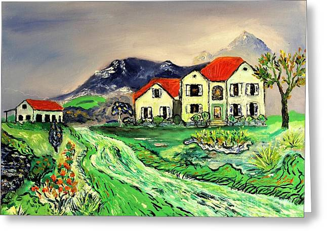 Home Sweet Home Greeting Card by Rich Donadio