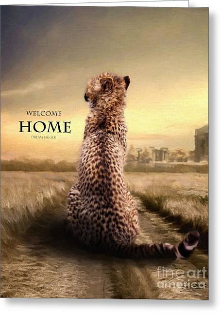 Greeting Card featuring the photograph Home2 by Christine Sponchia