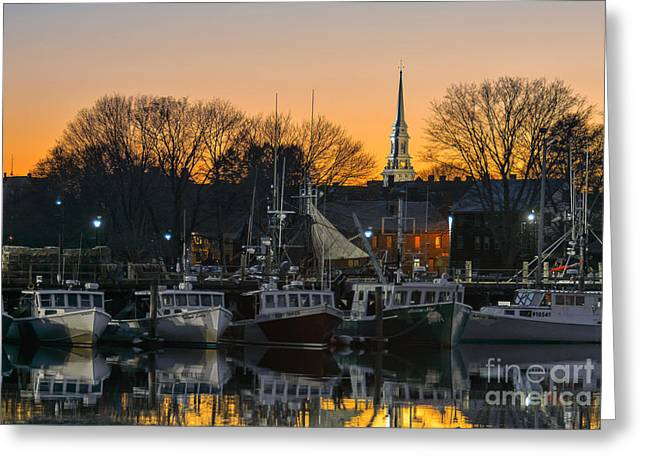 Homeport Greeting Card by Scott Thorp