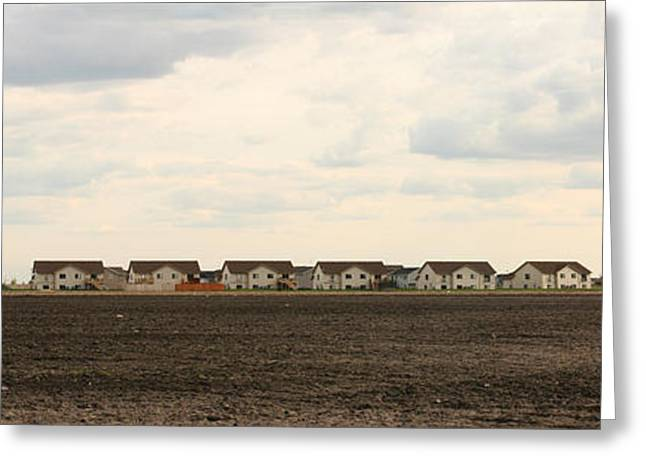 Homes On The Prairie Greeting Card by Steve Augustin
