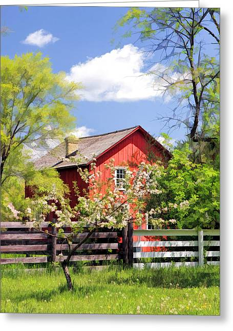 Homestead At Old World Wisconsin Greeting Card by Christopher Arndt