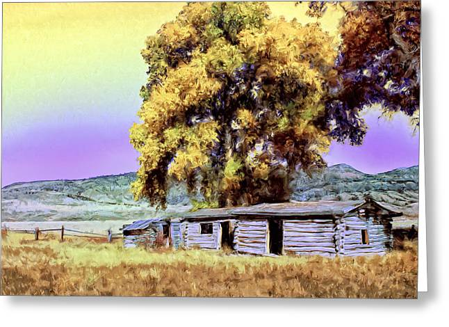 Homestead Greeting Card by Dominic Piperata
