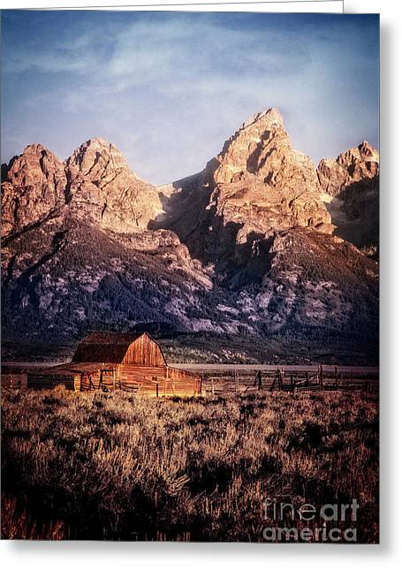 Greeting Card featuring the photograph Homesteader by Scott Kemper