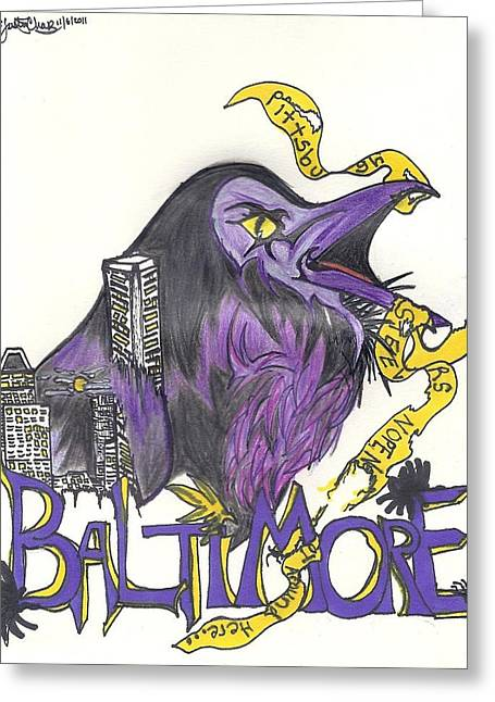 Steelers Drawings Greeting Cards - Hometeam Greeting Card by Justin Chase