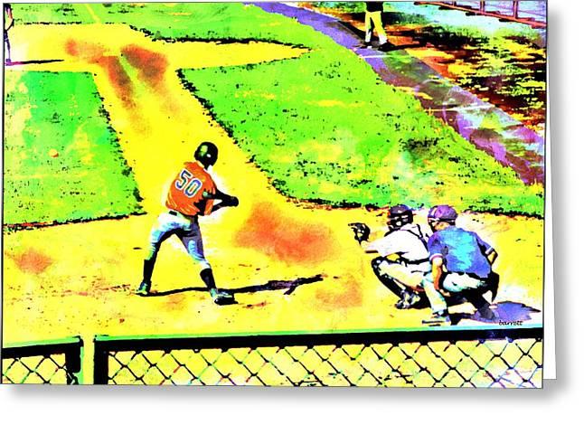 Hometown Baseball Greeting Card