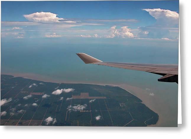 Aeronautical Greeting Cards - Homeward Bound Greeting Card by Graham Taylor