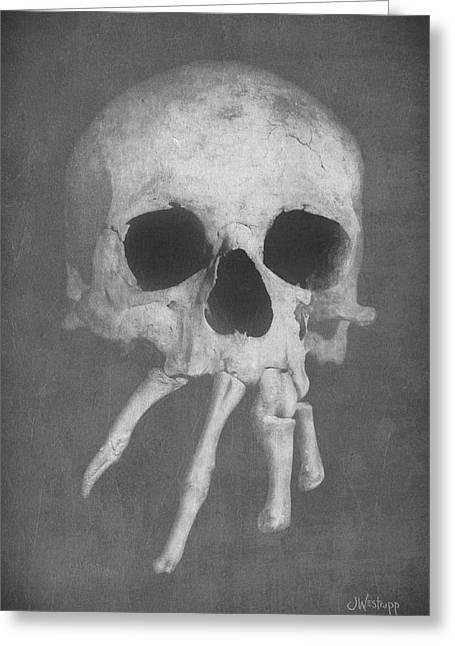 Homo Spidercus Greeting Card
