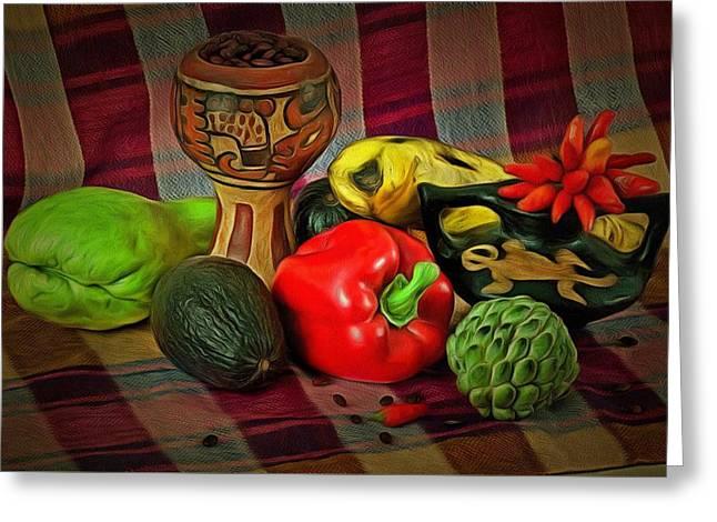 Honduran Foods Greeting Card