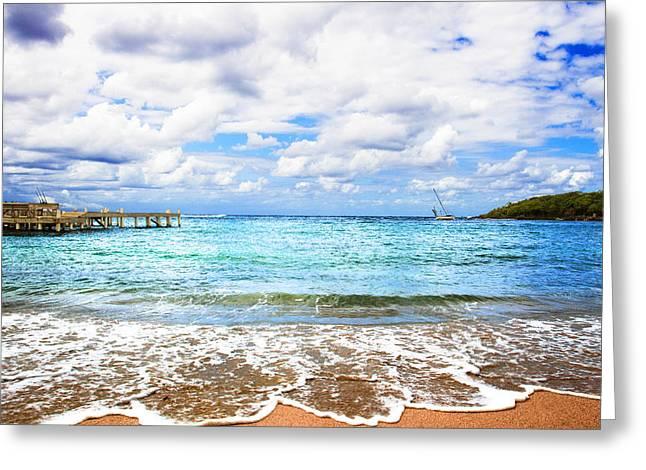Honduras Beach Greeting Card