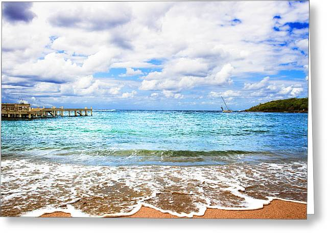 Honduras Beach Greeting Card
