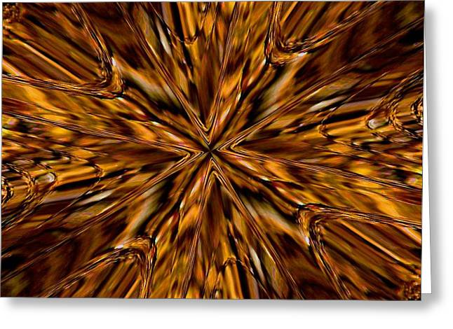 Greeting Card featuring the photograph Honey Flow by David Dunham