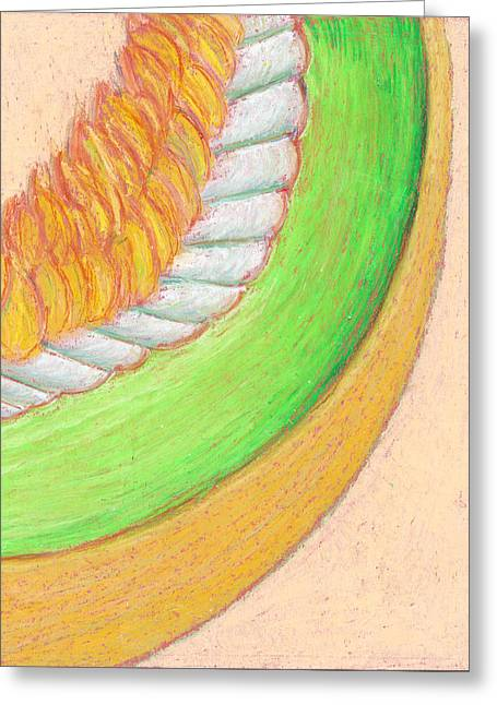 Honeydew Greeting Card by Dawn Marie Black