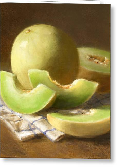 Honeydew Melons Greeting Card