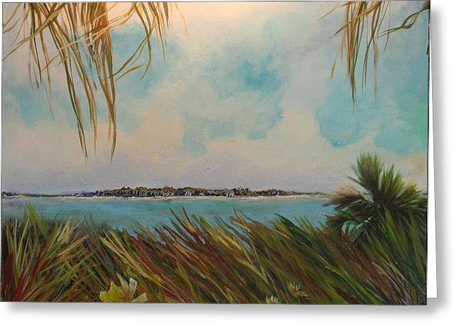 Honeymoon Island Greeting Card by Michele Hollister - for Nancy Asbell