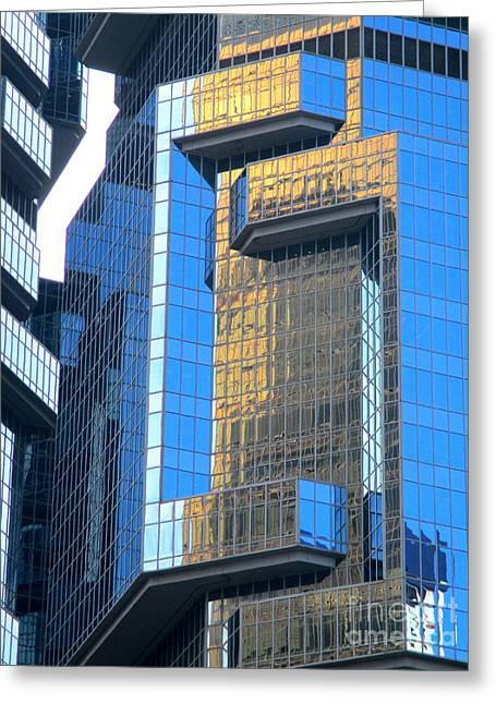 Hong Kong Architecture 37 Greeting Card by Randall Weidner