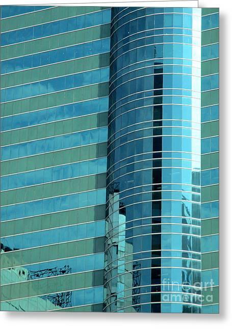 Hong Kong Architecture 74 Greeting Card by Randall Weidner