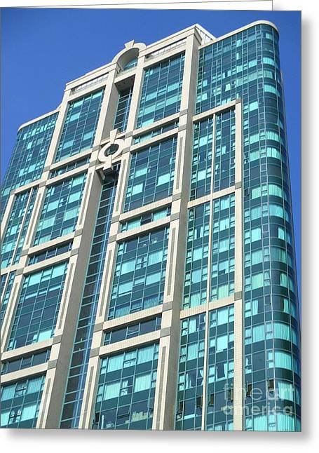 Hong Kong Architecture 82 Greeting Card by Randall Weidner