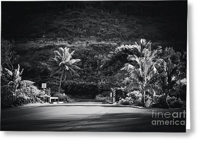 Greeting Card featuring the photograph Honokohau Maui Hawaii by Sharon Mau