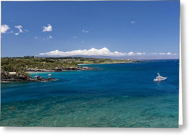Honolua Bay Greeting Card