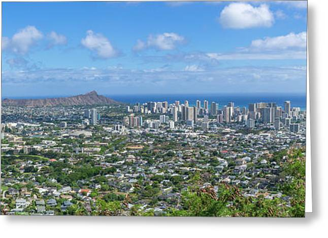 Honolulu  Greeting Card