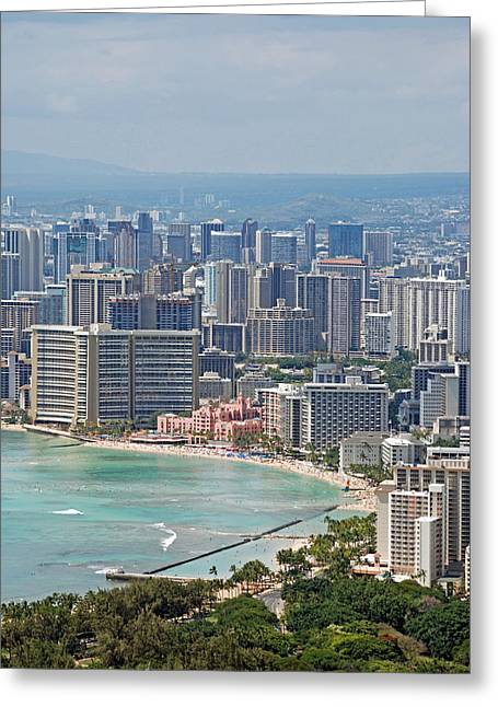 Honolulu Hawaii  Greeting Card