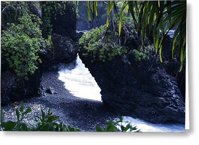 Honomaele Hana Maui Hawaii Greeting Card