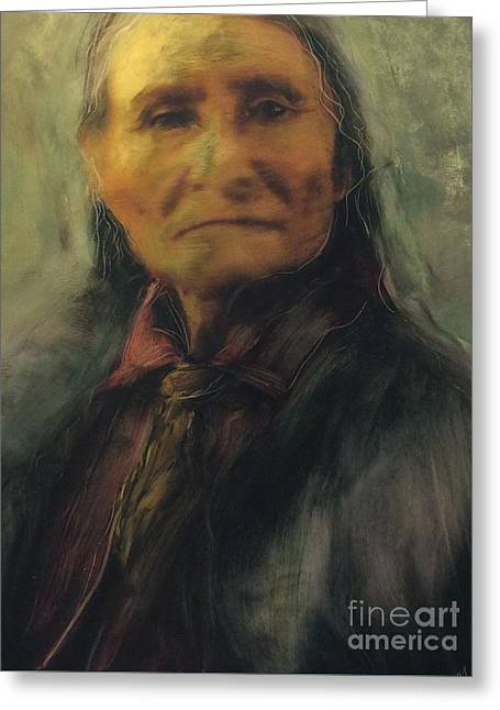 Honoring Geronimo Greeting Card