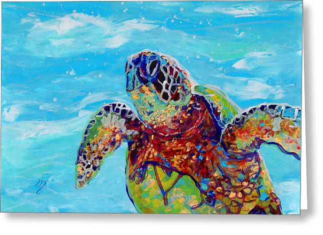 Honu 10 Greeting Card