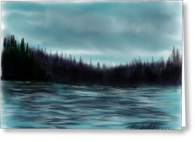 Hood Canal Puget Sound Greeting Card