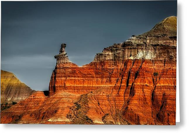 Hoodoo Rock Formation Greeting Card by Mountain Dreams