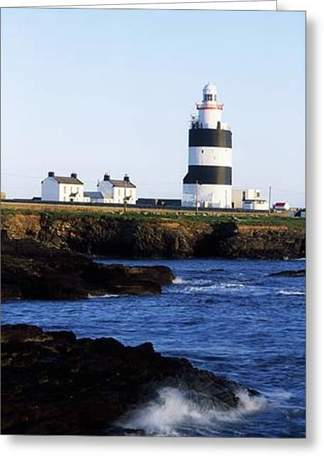The Houses Greeting Cards - Hook Lighthouse, Co Wexford, Ireland Greeting Card by The Irish Image Collection