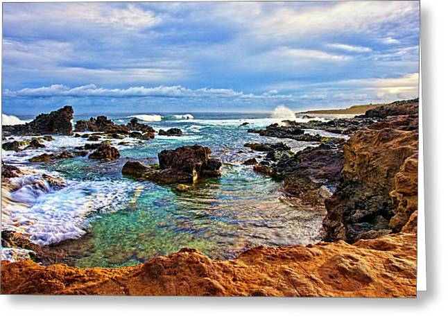 Ho'okipa Grand View Greeting Card