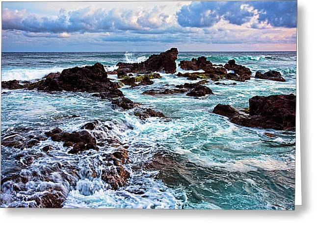 Ho'okipa Lookout Greeting Card by Marcia Colelli