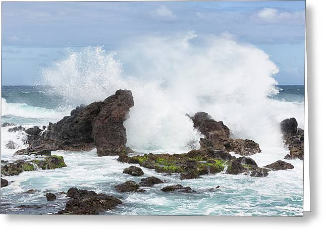 Hookipa Point Greeting Card