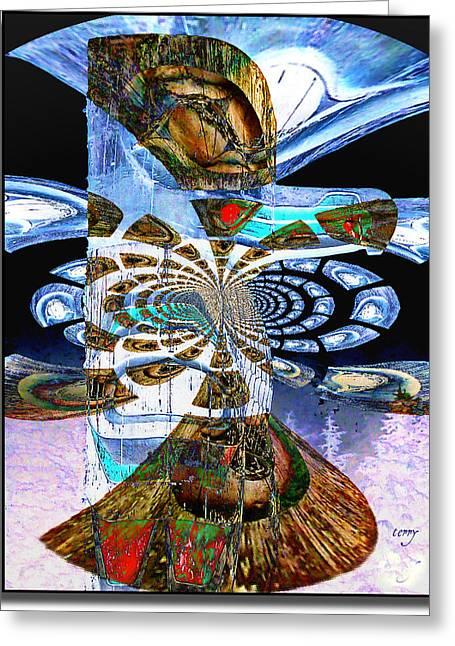 Hoonah Totem Greeting Card