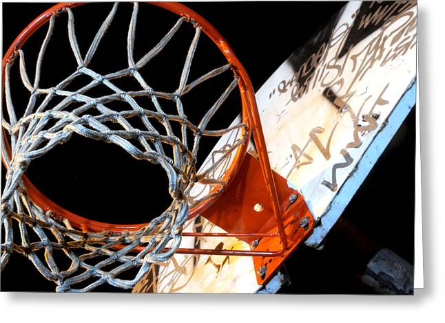 Hoop Greeting Card by Mike Lindwasser Photography