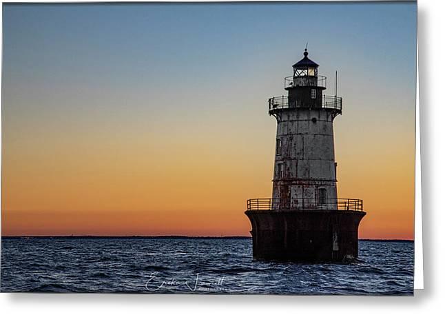 Hoopers Island Sunset Greeting Card