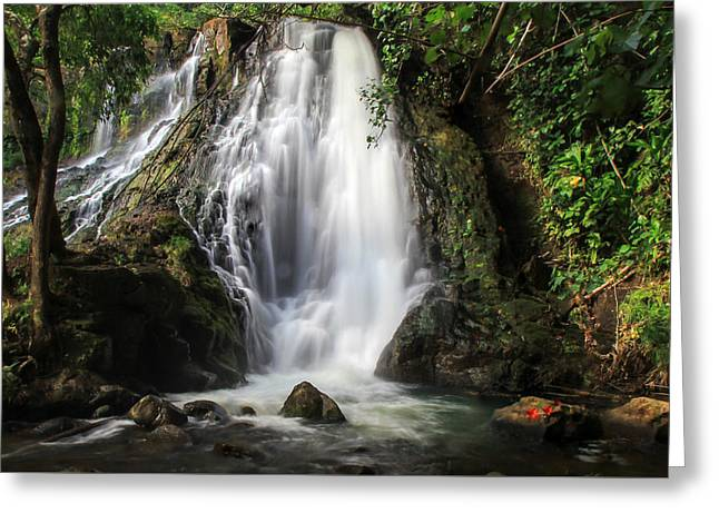 Hoopii Falls Greeting Card