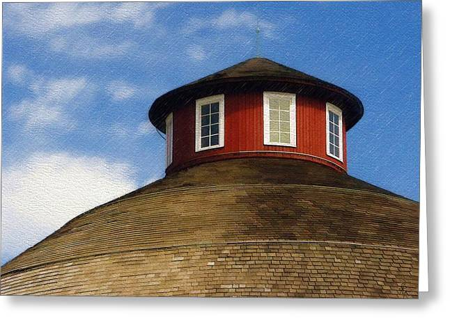 Hoosier Cupola Greeting Card