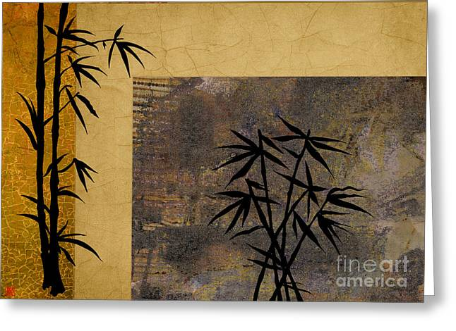 Hope And Bamboo Greeting Card