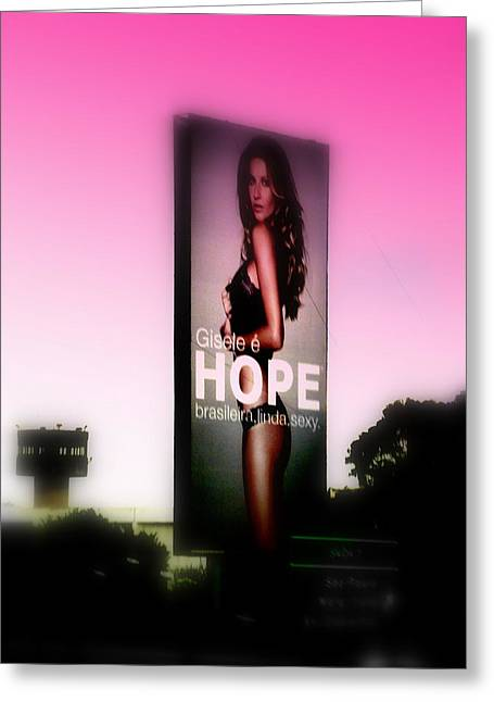 Top Model Greeting Cards - Hope for all Single Men Greeting Card by Funkpix Photo Hunter