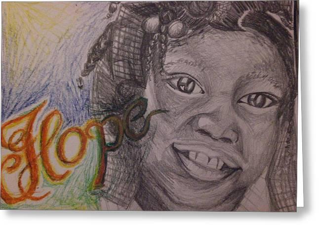 Hope For Haiti Greeting Card