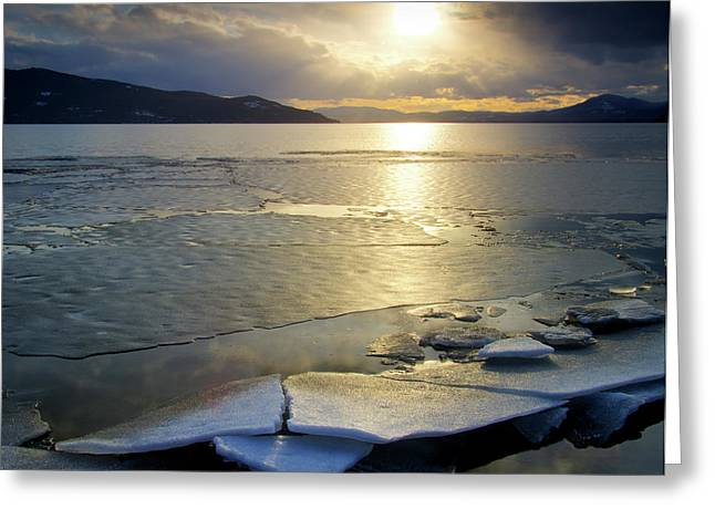 Lake Pend Oreille Greeting Cards - Hope Greeting Card by Idaho Scenic Images Linda Lantzy